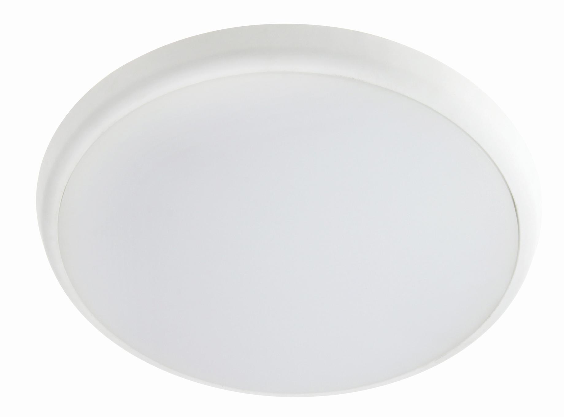 Runde LED Wand- / Deckenleuchte IP54 mit HF-Sensor