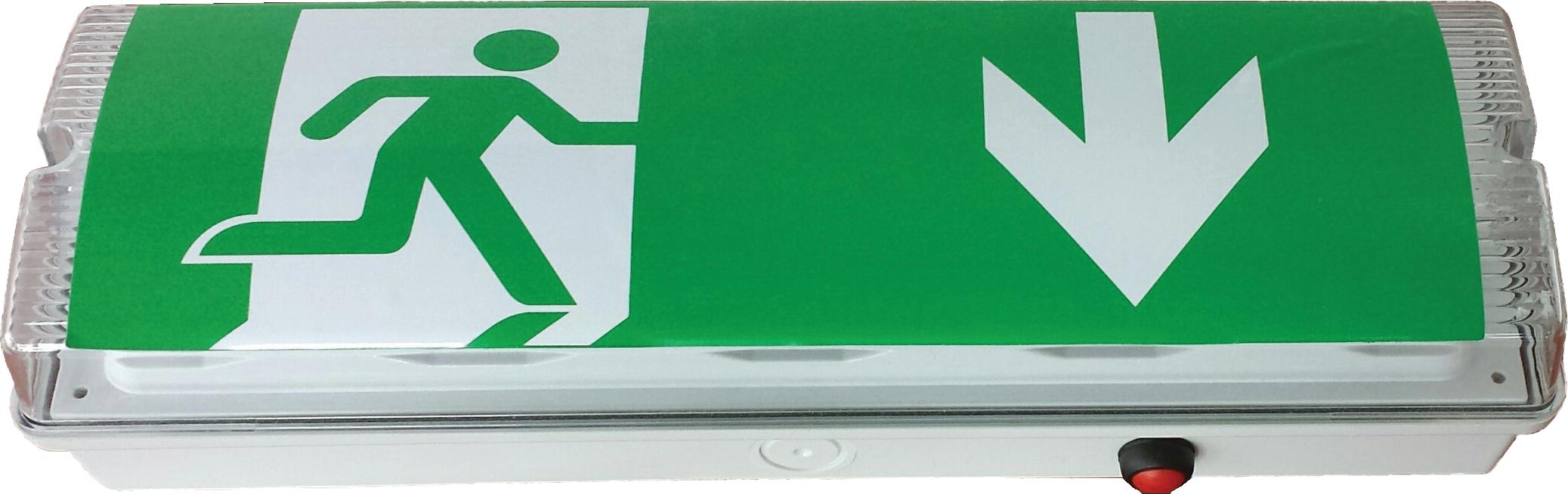 LED-Notleuchte 3W (Anbau) mit Autotest 3h oder 8h-Notlicht