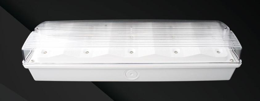 LED-Sicherheitsleuchte 9W High-Lumen – mit Autotest