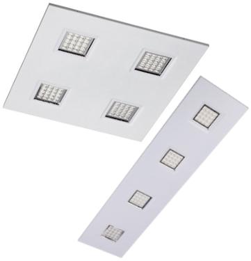 UGR16 LED Einlegeleuchte mit austauschbaren LED Modulen